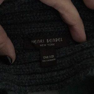 henri bendel Accessories - Henri bendel cashmere ear warmer.